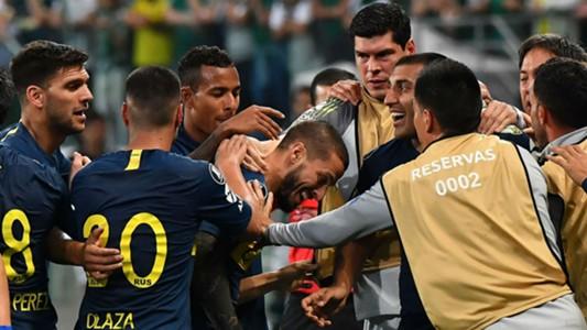 AFP Darío Benedetto Palmeiras Boca Copa Libertadores 2018