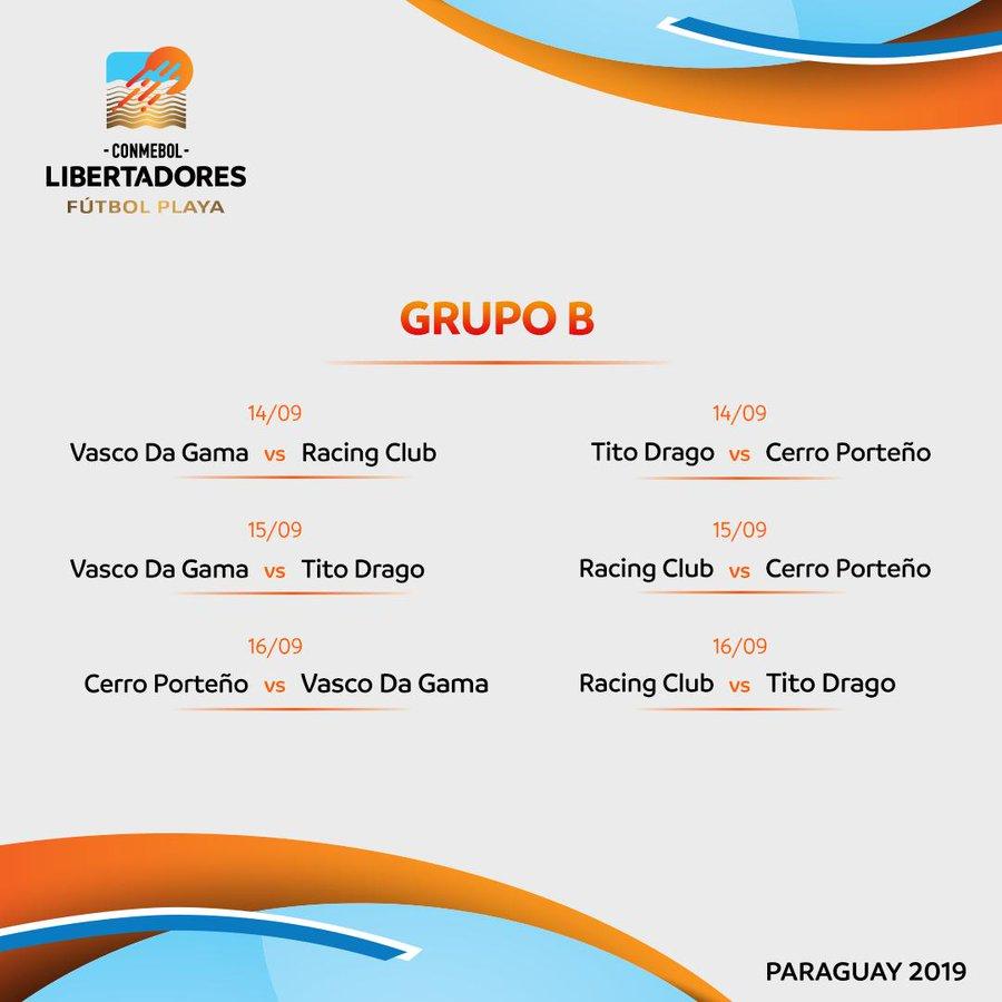Grupo A - Futebol de Praia