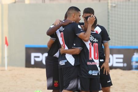 Vasco venceu na Libertadores de Praia