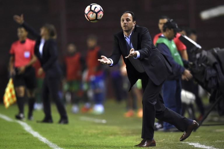 AFP Rogério Ceni técnico São Paulo