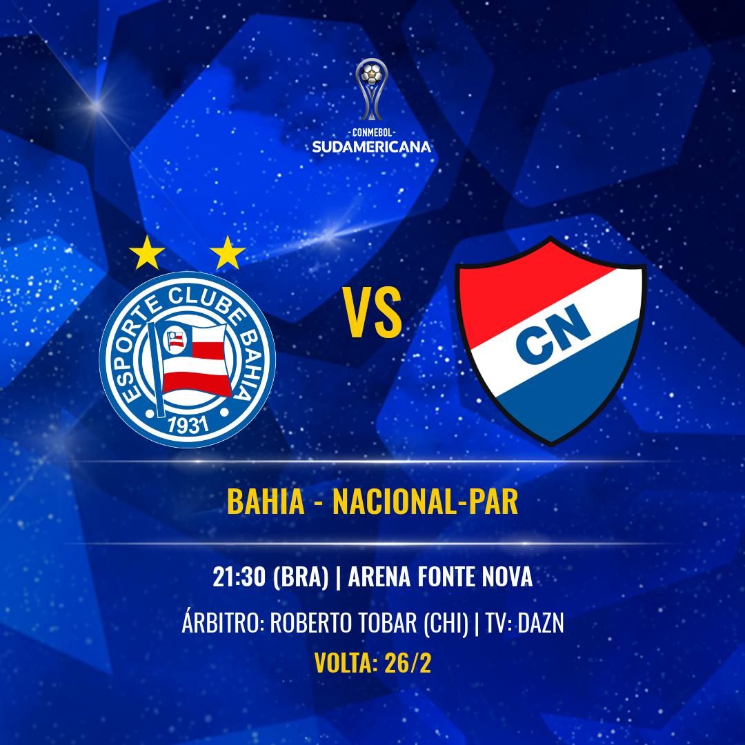 Bahia-Nacional Sul-Americana 2020