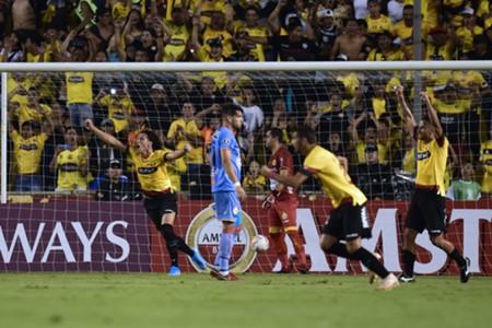 Barcelona Progreso Copa Libertadores AFP