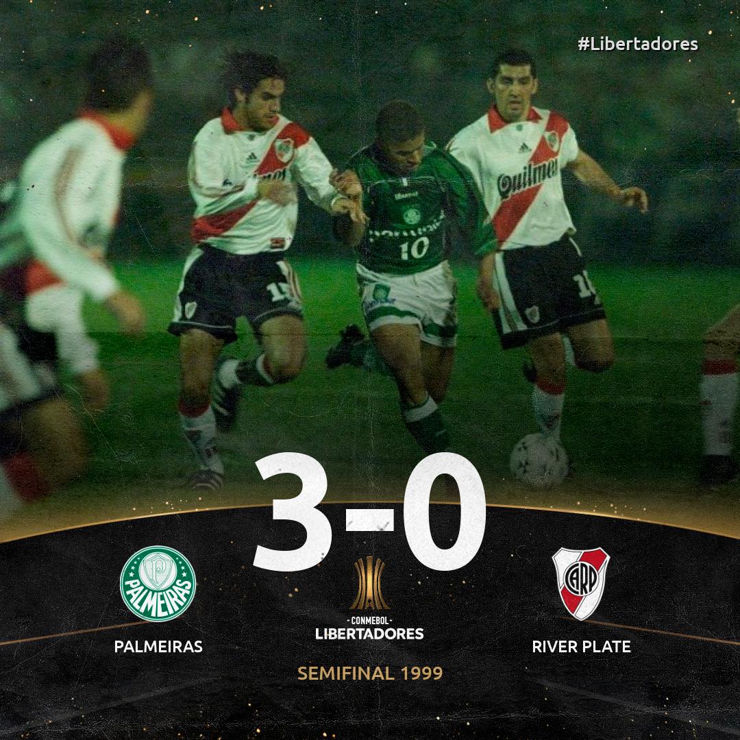 Palmeiras x River - 1999