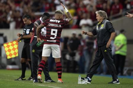 Gabriel e Jorge Jesus - Flamengo - Libertadores