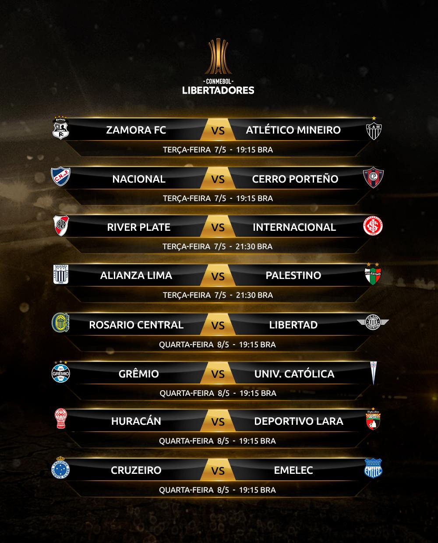 Rodada 6-1 Copa Libertadores