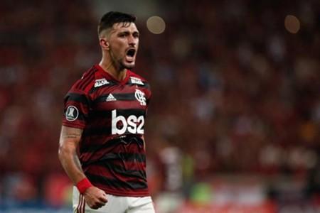 De Arrascaeta Flamengo x San José