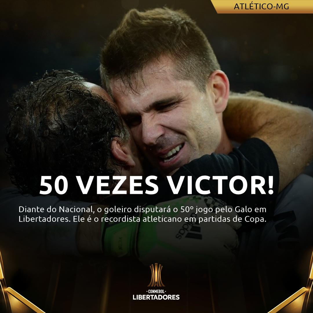 Placa Victor Atlético-MG
