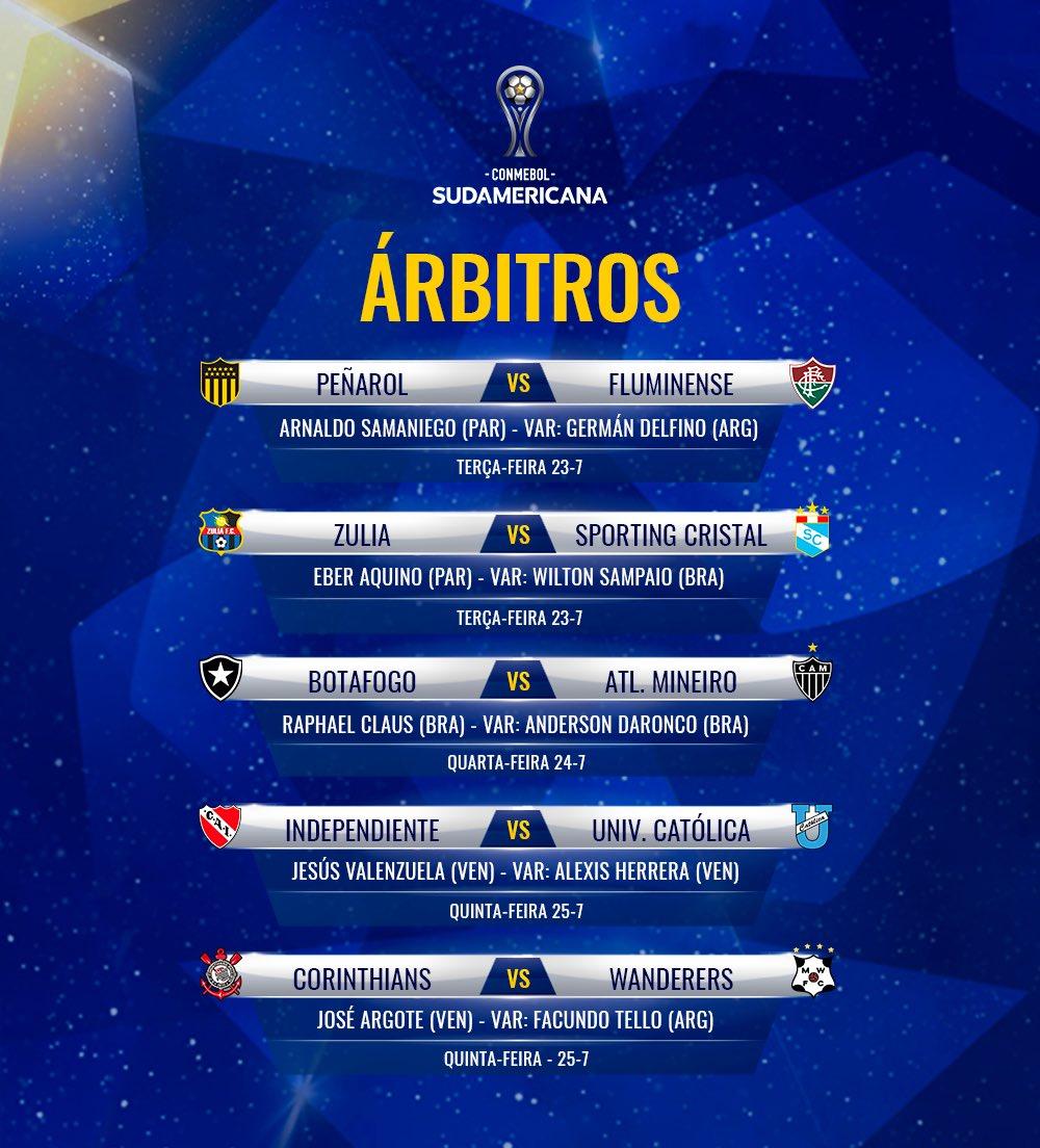Árbitros - Copa Sul-Americana