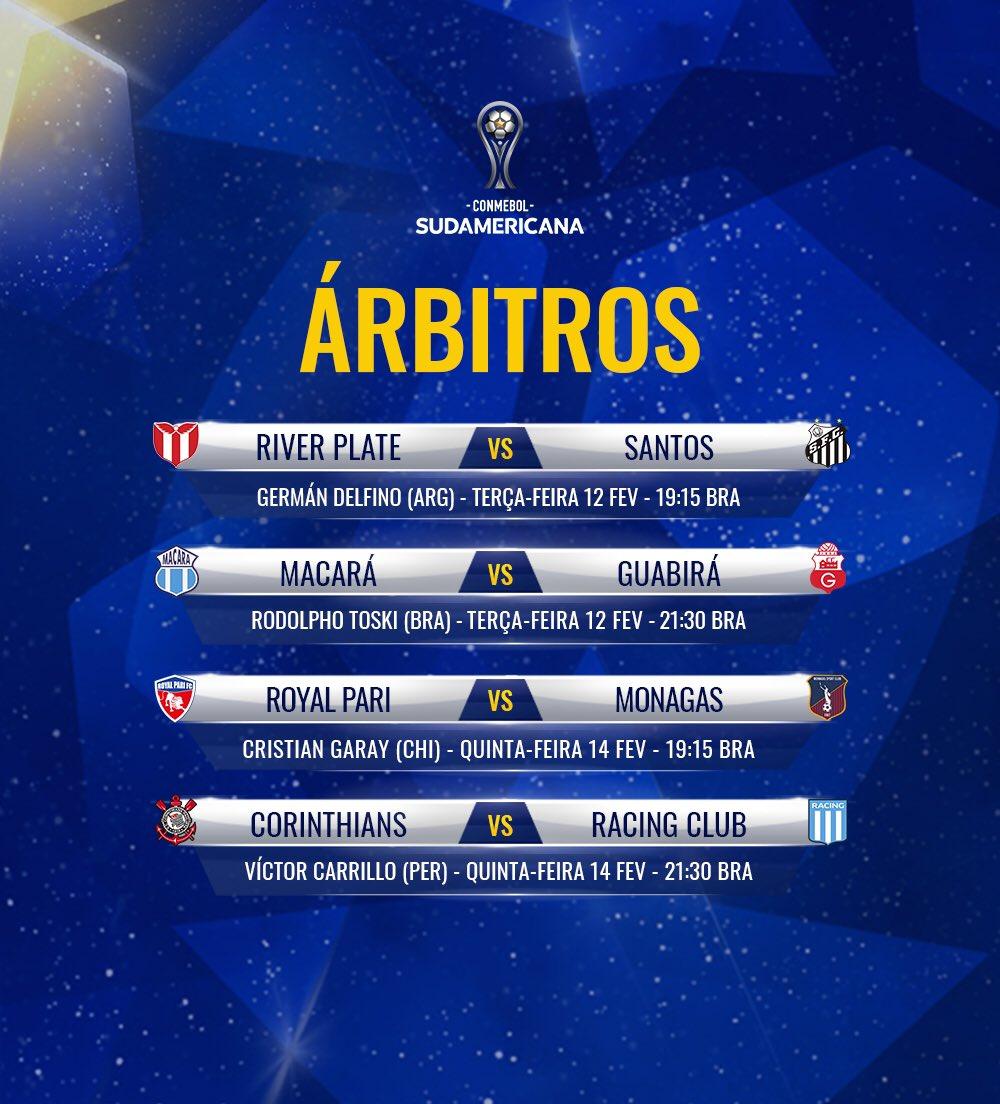 Árbitros - Sul-Americana