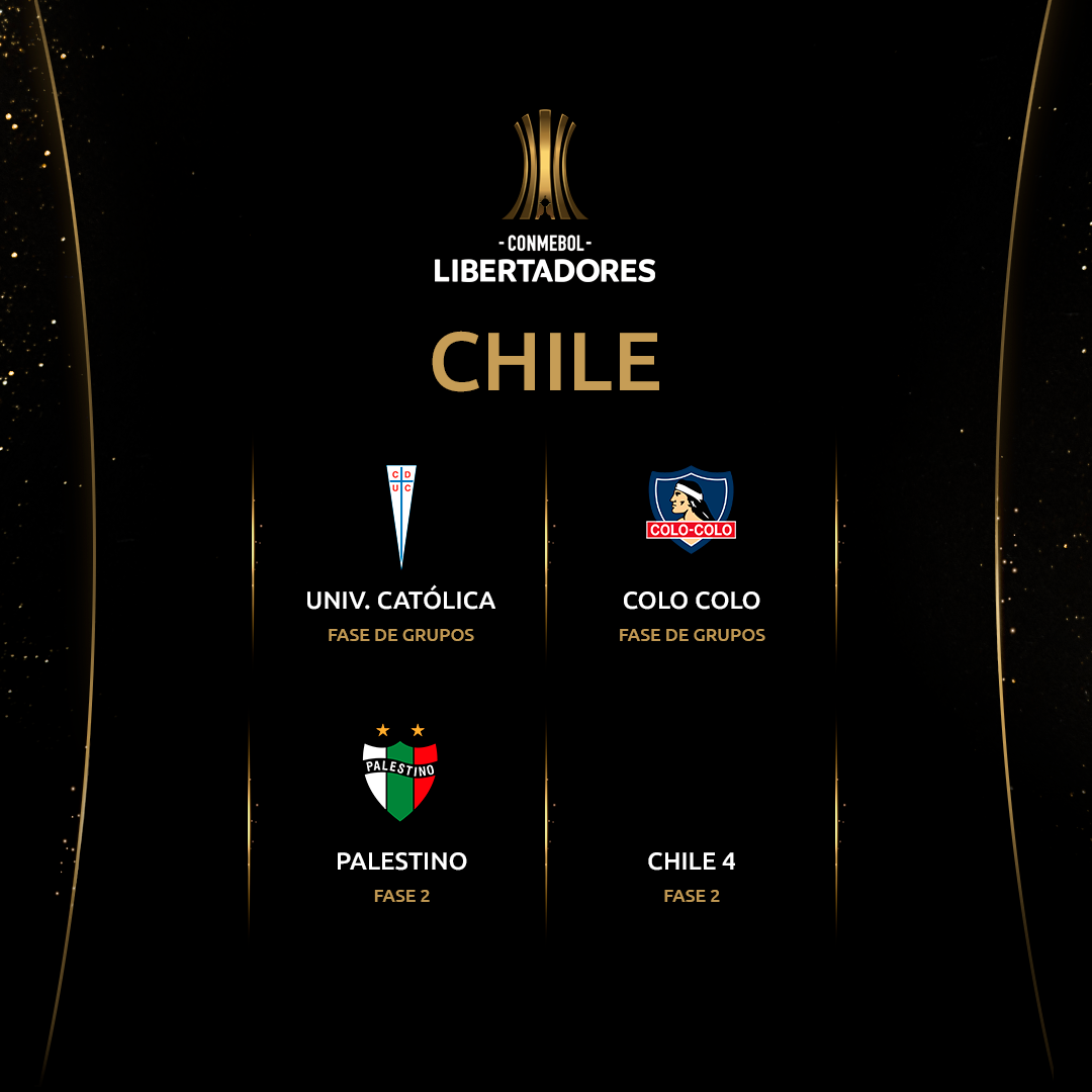 Chile - Libertadores (vale este)