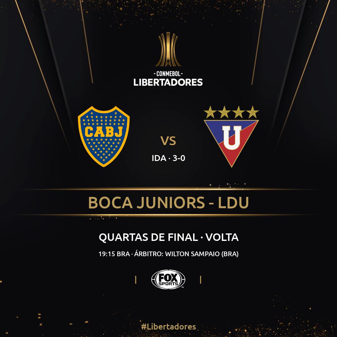 Boca Juniors vs LDU