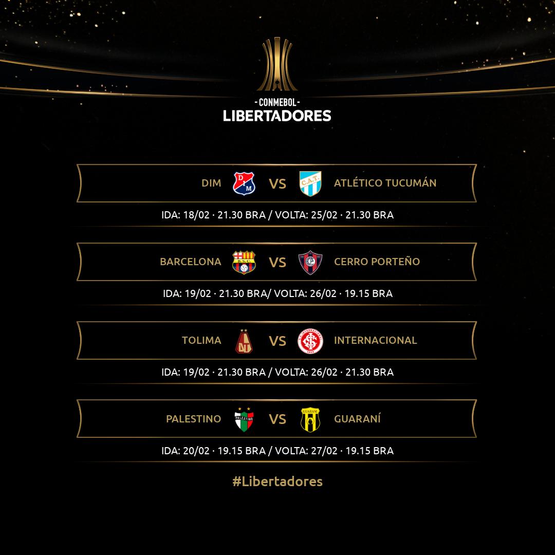 Tabela - Fase 3 Libertadores