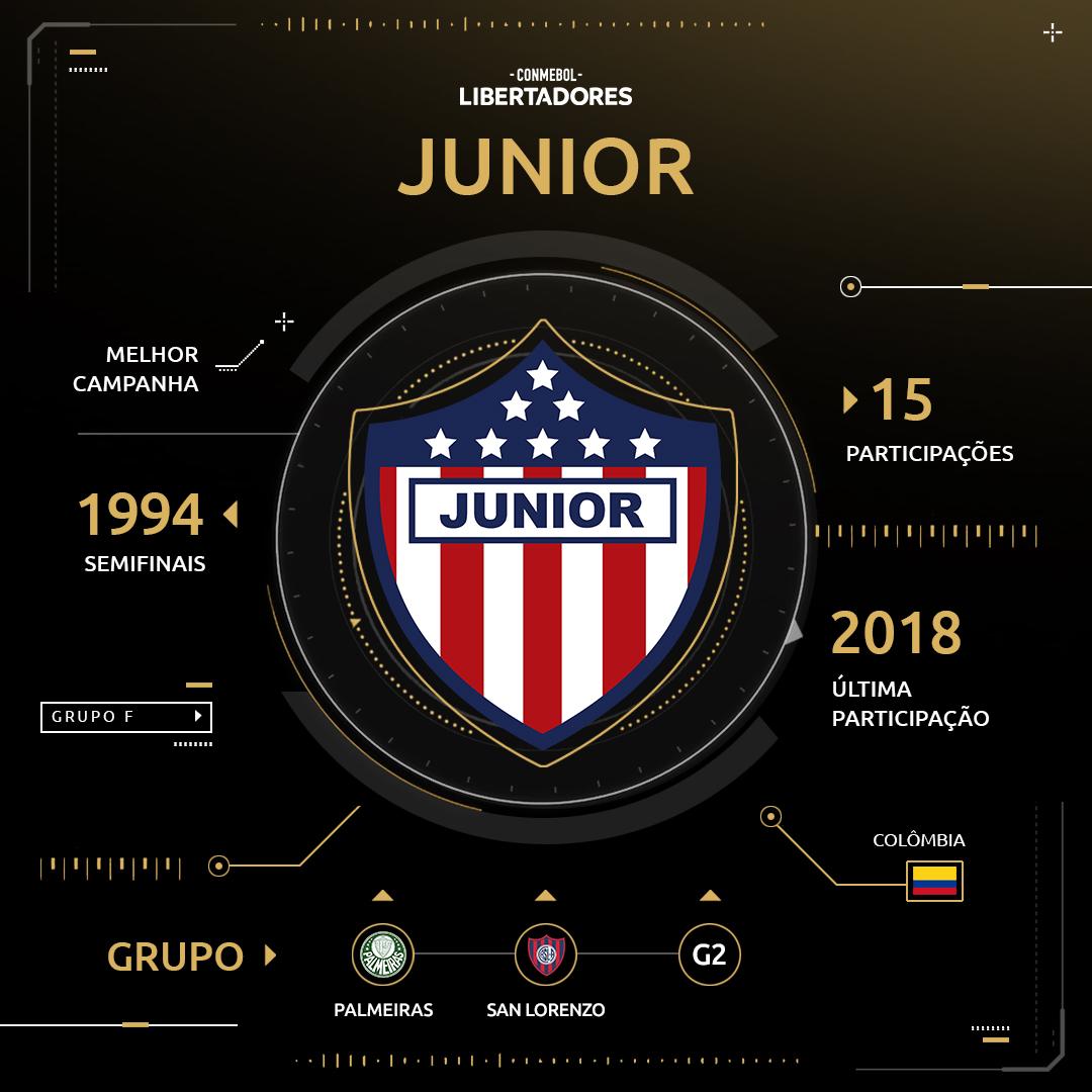 Arte Junior Barranquilla Libertadores 2019