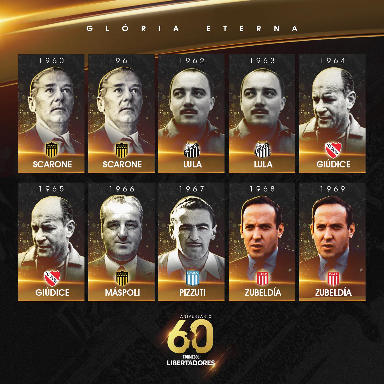 Técnicos Libertadores - 1960-69