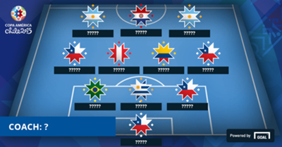 Copa America Group Stage Ideal XI Missing