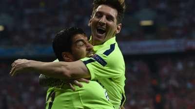 Messi Suárez Bayern Barcelon