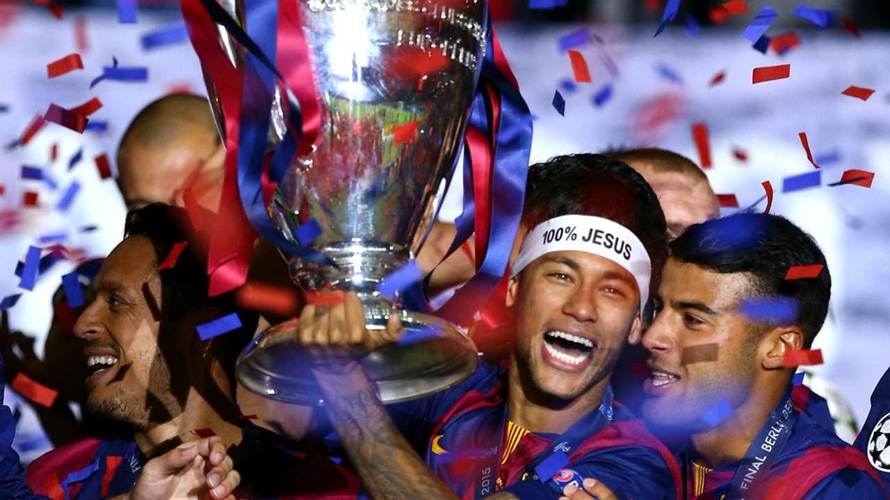 neymar troféu