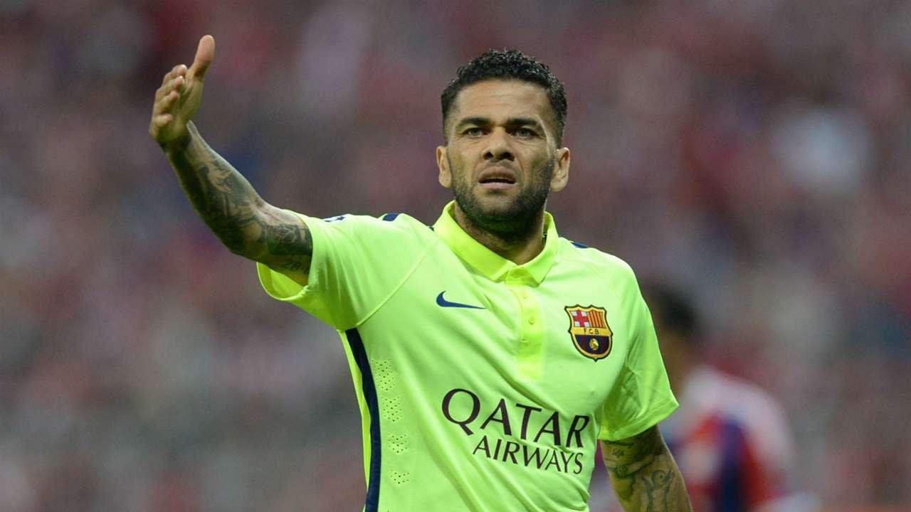 Dani Alves Barcelona