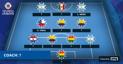 Missing Players Copa Matchday Two XI