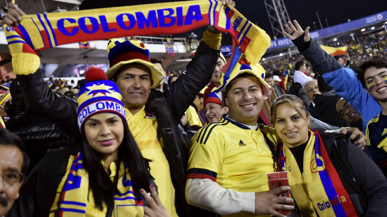 Colombia fans