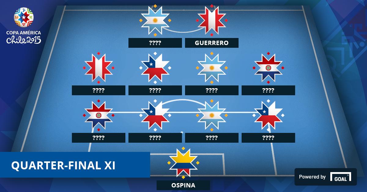 Quarter-final XI