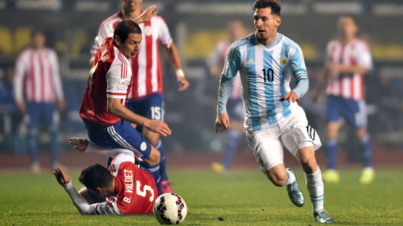 Argentina v Paraguay Lionel Messi