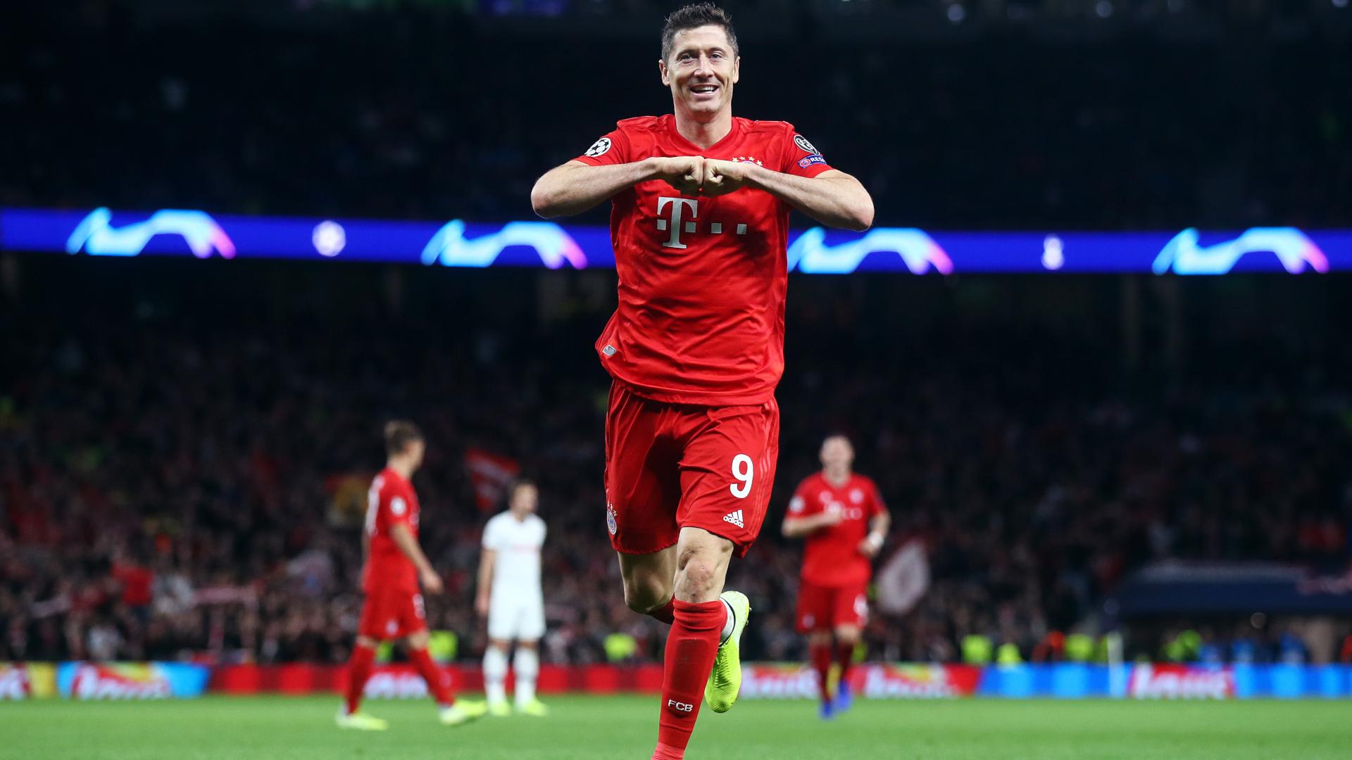 ONYL GER Robert Lewandowski FC Bayern München CL vs. Tottenham Hotspur 01102019