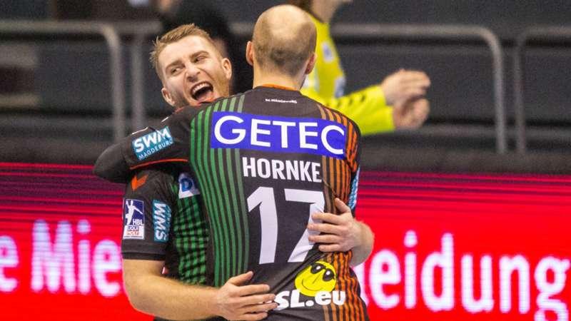 SC Magdeburg Hornke Mertens Handball European League