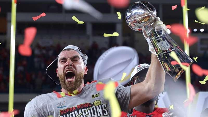 Travis Kelce Kansas City Chiefs NFL 02022020