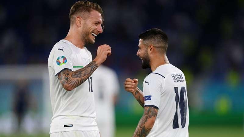 ONLY GER EURO 2020 Italien Lorenzo Insigne Ciro Immobile vs. Türkei 11062021