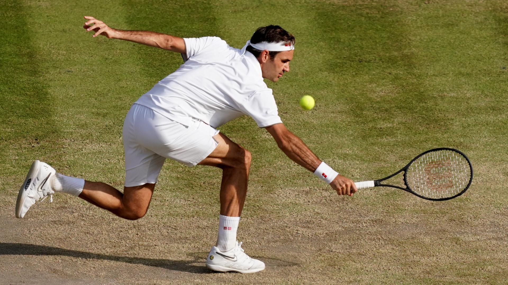 ONLY GER Roger Federer vs. Novak Djokovic Wimbledon 140720219