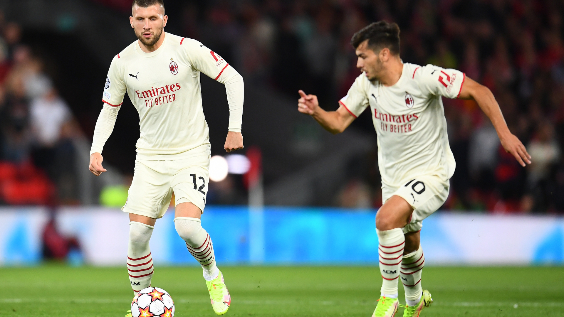 ONLY GER Champions League AC Mailand FC Liverpool Ante Rebic Brahim Diaz 15092021