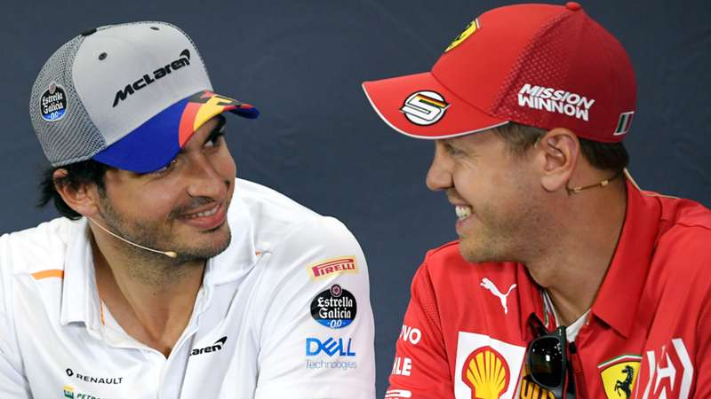 Carlos Sainz, Sebastian Vettel, F1