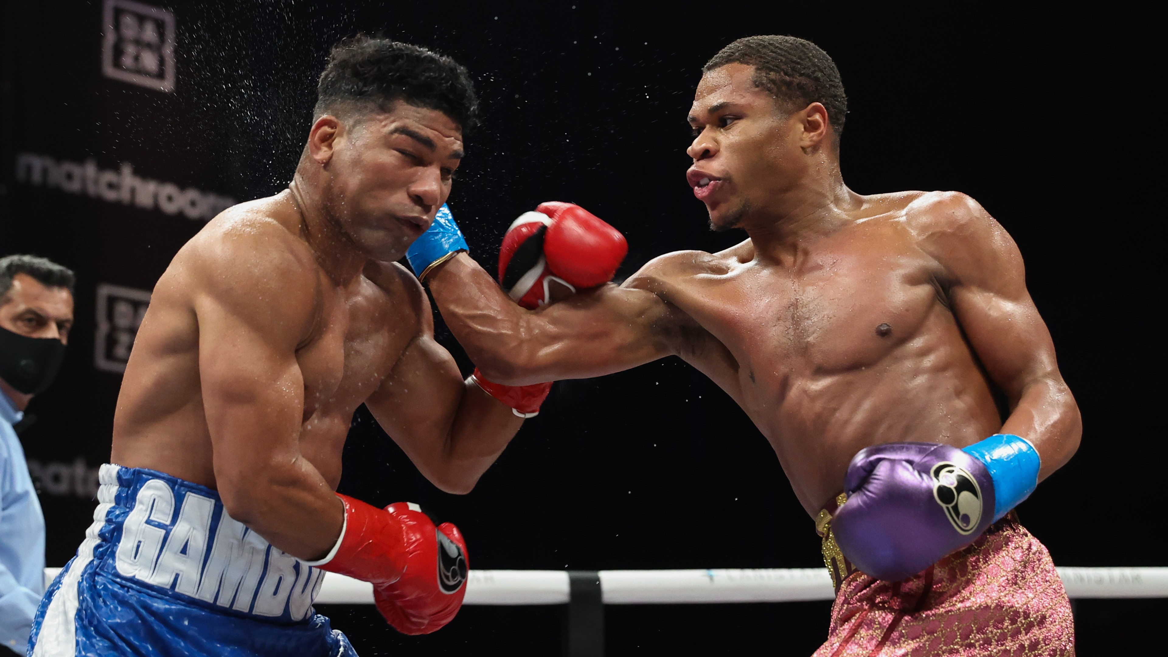 WBC lightweight title: Devin Haney beats Yuriorkis Gamboa in Florida