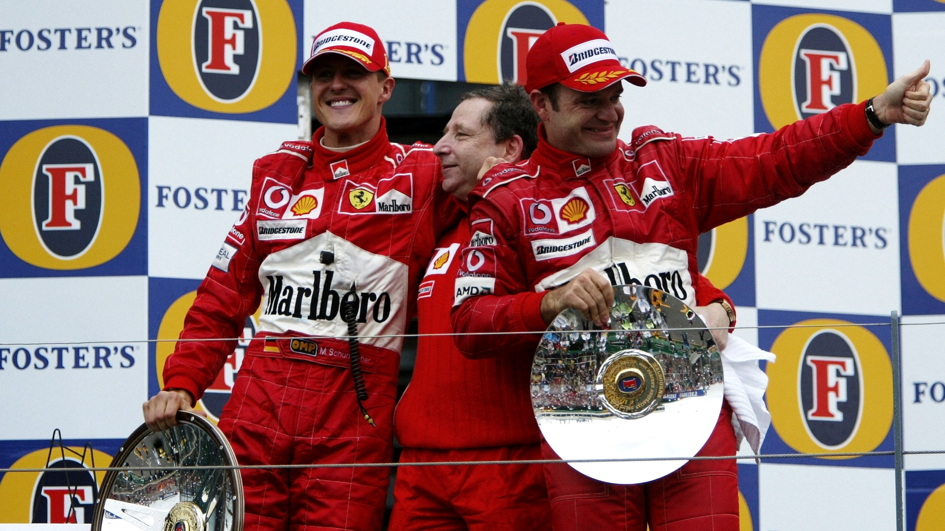 2021-03-22 2004 Michael Schumacher Todt Ferrari Formula 1 F1