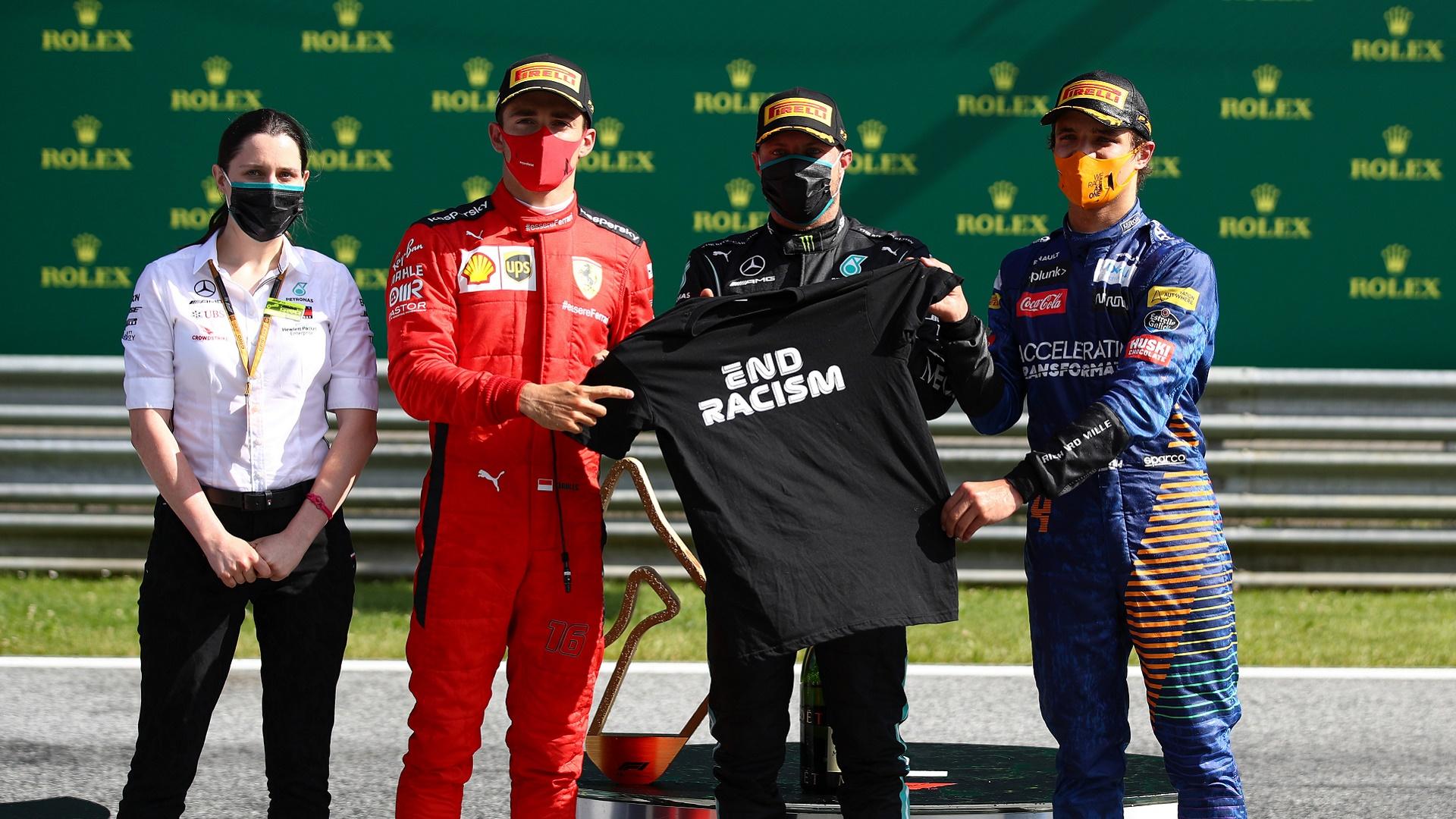 2020-07-05 Formula 1 F1 Austria Bottas Leclerc Norris