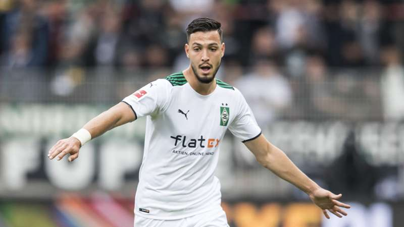 Ramy Bensebaini Gladbach Bundesliga 22102021