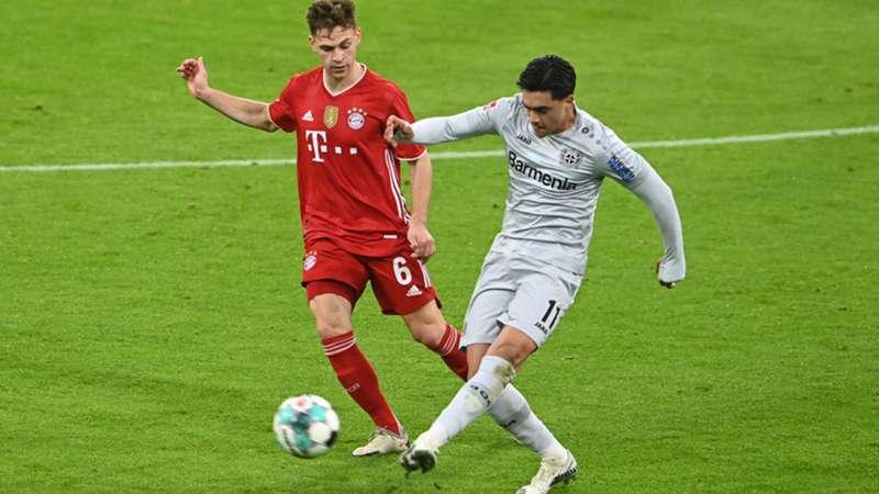 Joshua Kimmich Nadiem Amiri FC Bayern Leverkusen 200421