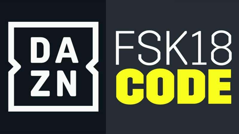DAZN FSK18 Code
