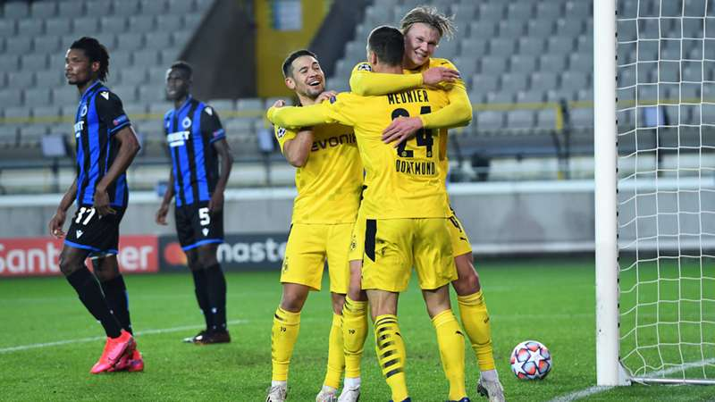 Borussia Dortmund FC Brügge 2020