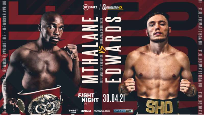 Moruti Mthalane vs. Sunny Edwards: Date, fight time, TV channel and live  stream | DAZN News Mexico
