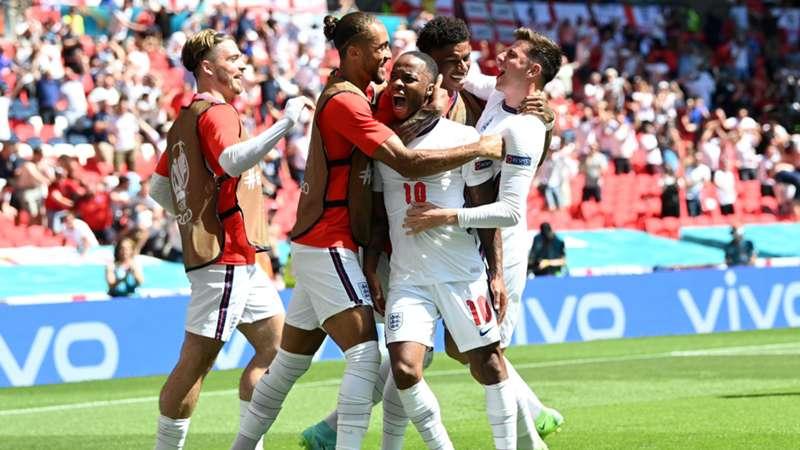England Kroatien Raheem Sterling EURO 2020 13062021