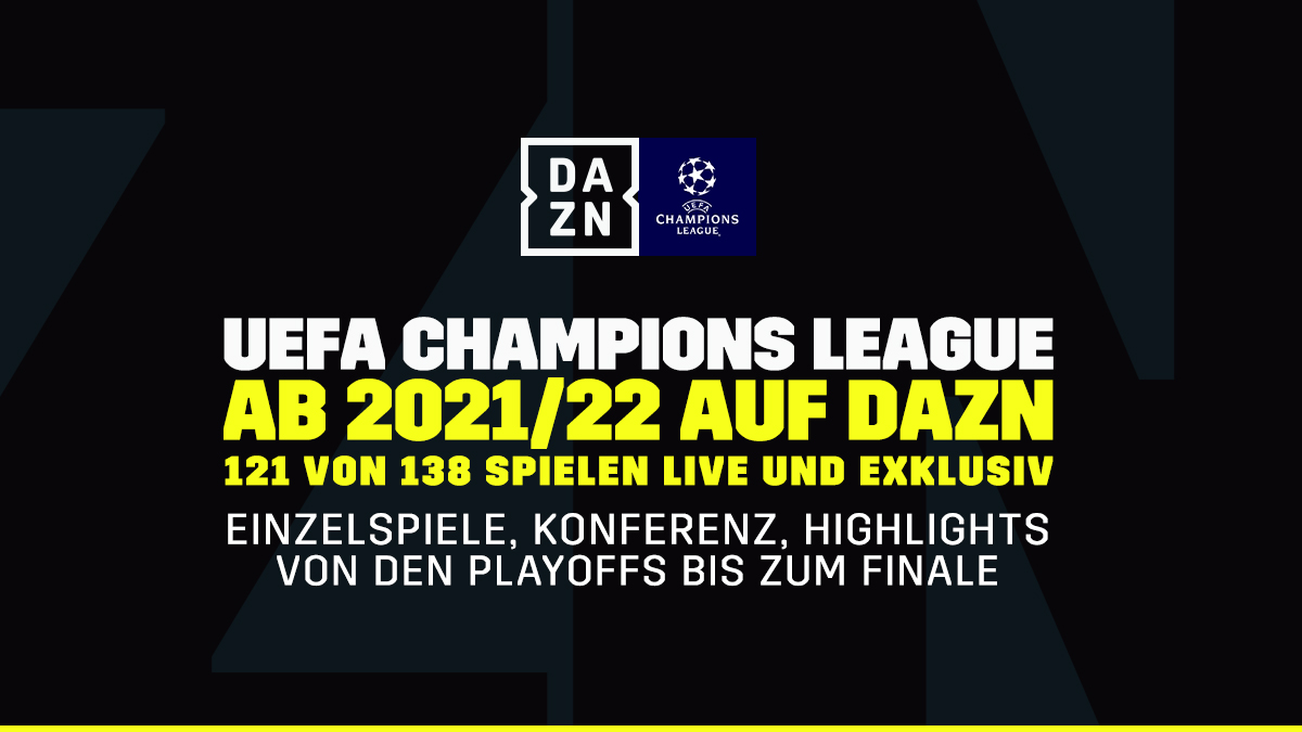 No Header - DAZN Champions League August 2020