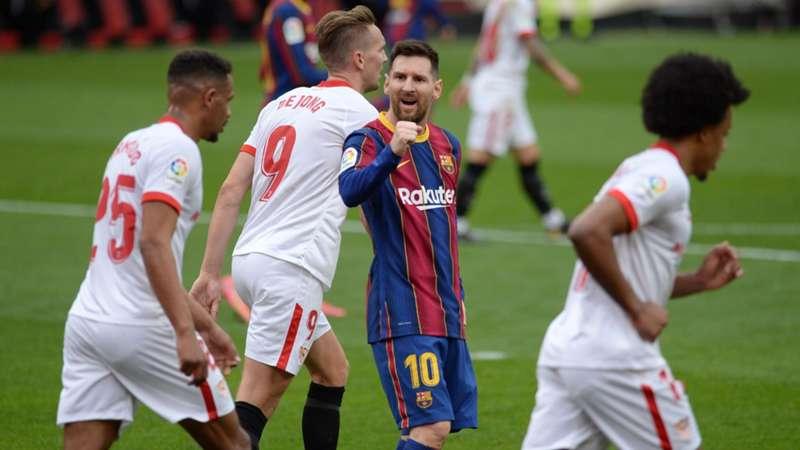 FC Barcelona FC Sevilla Copa del Rey Messi heute live