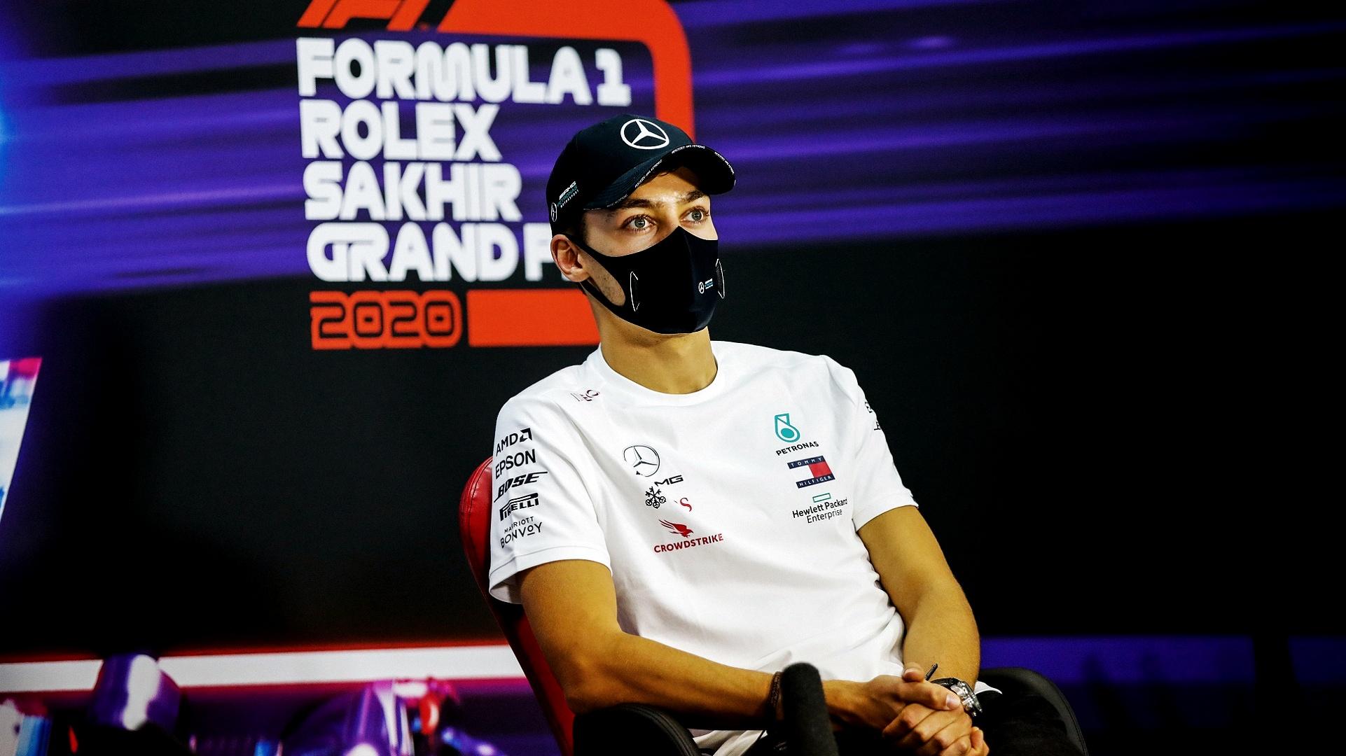 2020-12-05 Russell F1 Formula 1