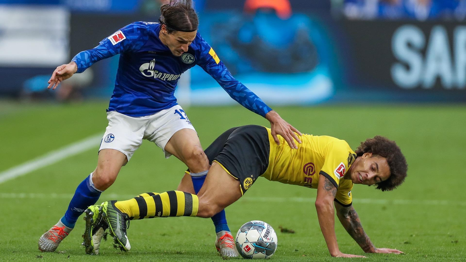 Stambouli Witsel Schalke Dortmund