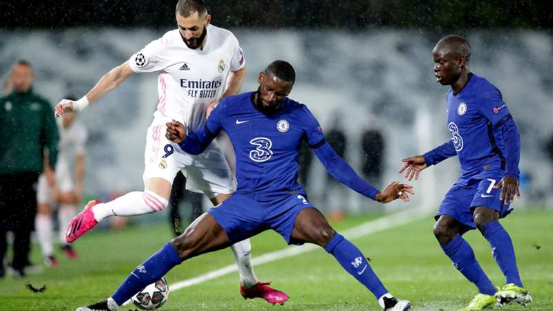 ONLY GERMANY Benzema Rüdiger Chelsea Real 27042021