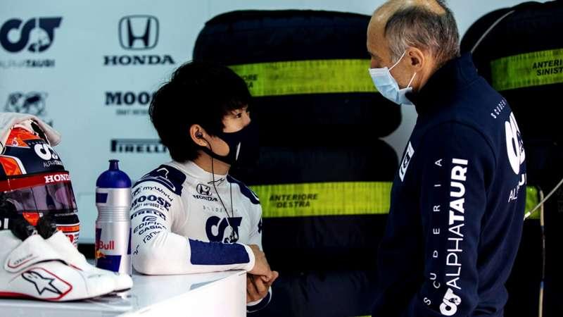 2021-04-07 Tsunoda Yuki Tost Alphatauri Formula 1 F1