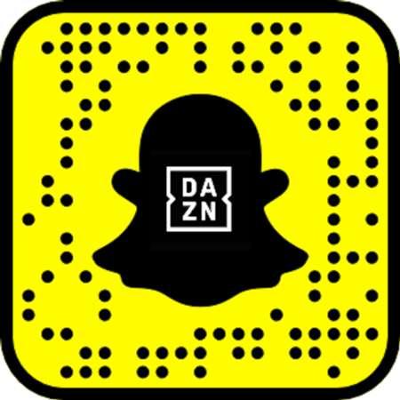 DAZN Snapchat