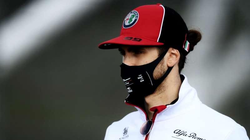 2020-12-31 Formula 1 F1 Giovinazzi AlfaRomeo